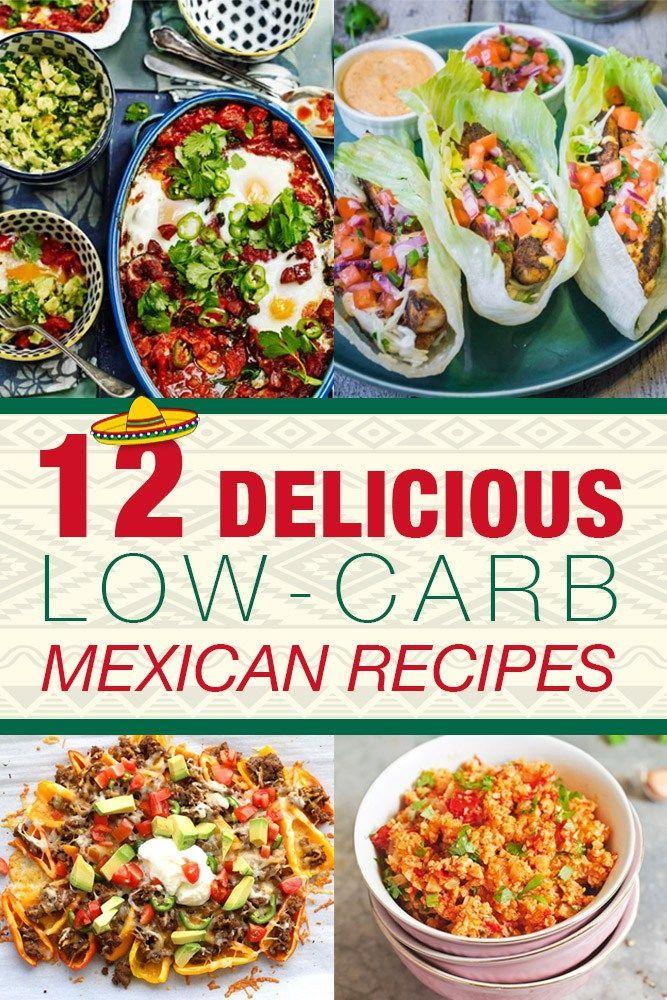 12 Delicious Low-Carb Mexican Recipes