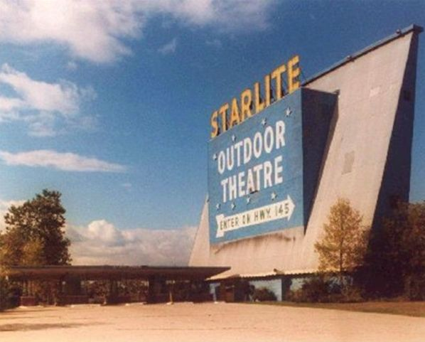 Marquee from the Starlite Drive In Theatre