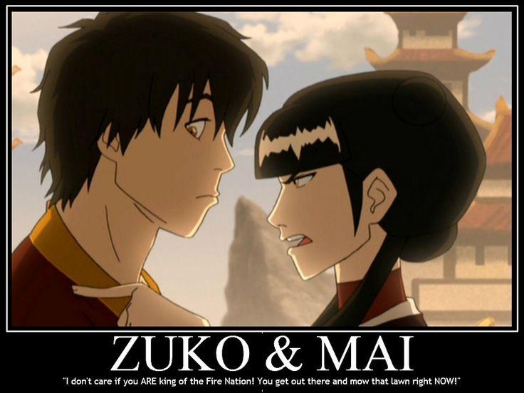 Gotta love Zuko and Mai! lol But didn't Mai break up with ...