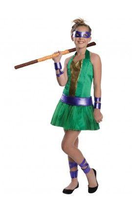 disfraz de donatello las tortugas ninja para nia