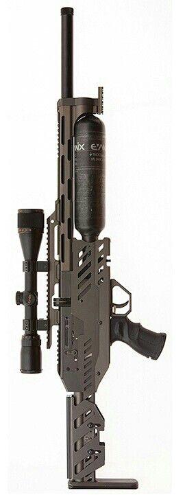 Custom paintball gun