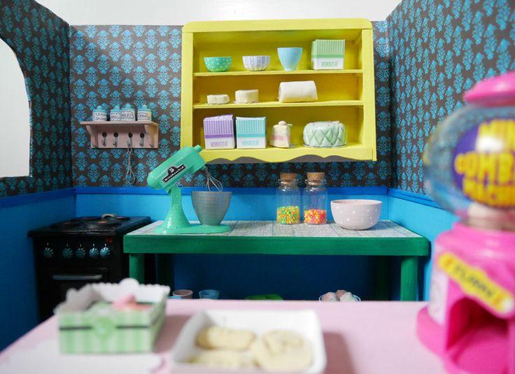 miniature bakery diy (bratz -doll sized)