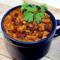 Laura's Quick Slow Cooker Turkey Chili Allrecipes.com