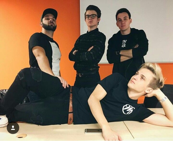 Pedro, House, Kovy a Martin Youtubers