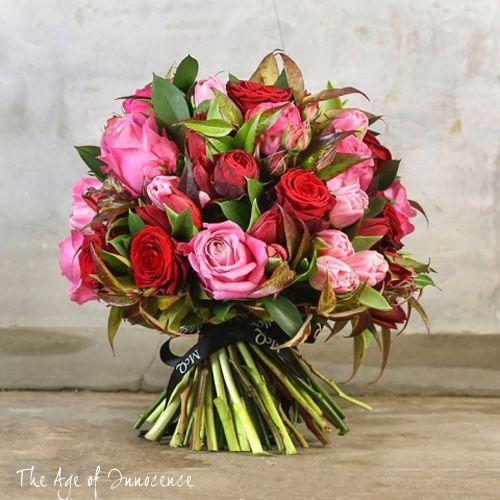 Wonderful bouquets in McQueens Valentine's Day 2014 Collection   Flowerona