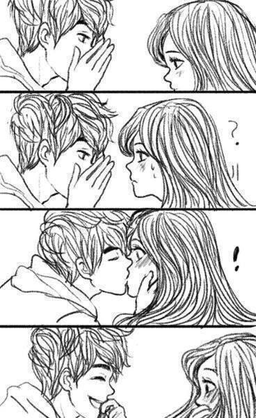 ideas de cómo robar un beso