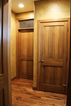 Interior Doors | two-panel walnut door and trim | Bayer Built Woodworks Inc & 25 best Bayer Built Milling and Doors images on Pinterest | Milling ...