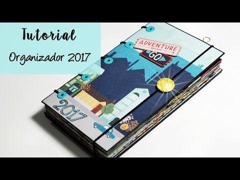 En este vídeo vamos a realizar un organizador anual, con encuadernación acordeón, para llevar nuestras facturas, revisiones médicas, papeles del trabajo... T...