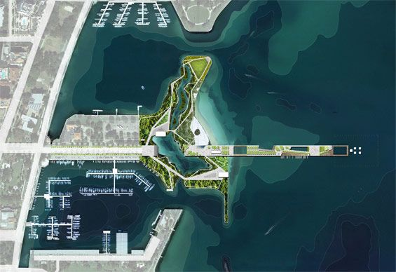 St.Petersburg Pier shortlisted concepts unveiled - W Architecture & Landscape Architecture - #landscape #architecture #st.pete #design #competition