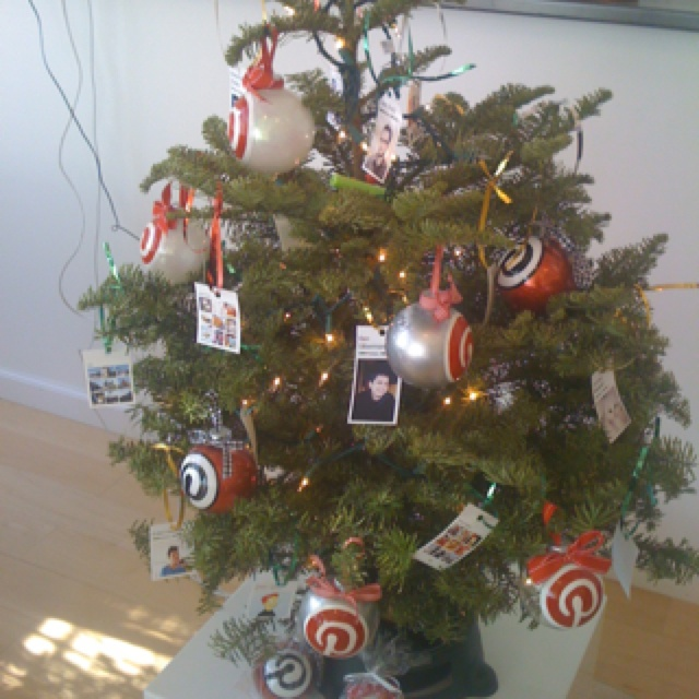 A Pinteresting Christmas tree!