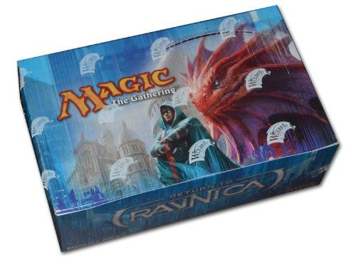 Magic: the Gathering – Return to Ravnica Booster Box  http://www.bestdealstoys.com/magic-the-gathering-return-to-ravnica-booster-box/