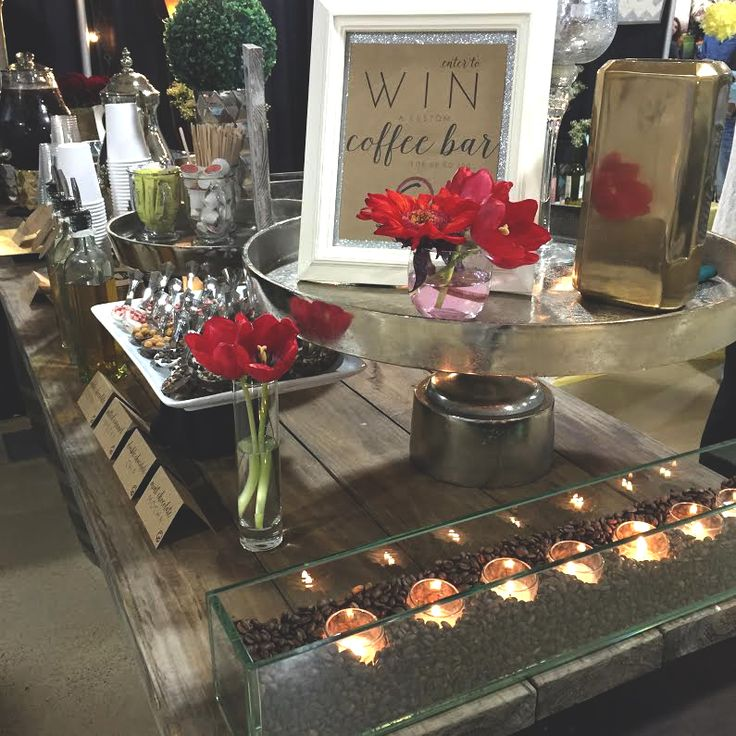 Fun Catering Ideas For Weddings: Custom Coffee Bar For Weddings + Events. Specialty Coffee