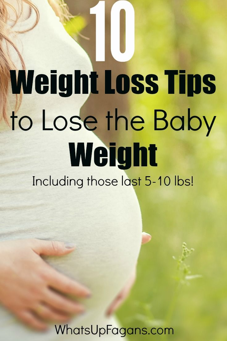 how to lose weight fast when pregnant