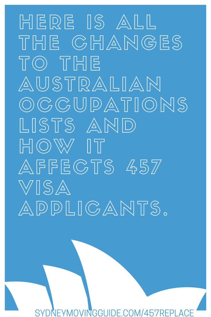 Moving to Australia Tips | Expat Life | Living Abroad | Moving Overseas | Australia's 457 Visa Will Be Completely Removed and Replaced with the Temporary Skills Shortage Visa by March 2018. Here's What You Need to Know about the Replacement of the Temporary Work 457 Visa with the Temporary Skills Shortage Visa. SydneyMovingGuide.com/457replace