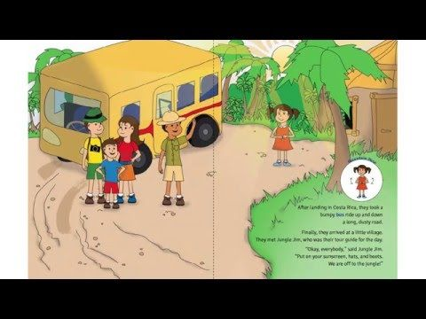 Act out Sophia's Jungle Adventure - A Kids Yoga Stories Audio Yoga Book for Kids - YouTube