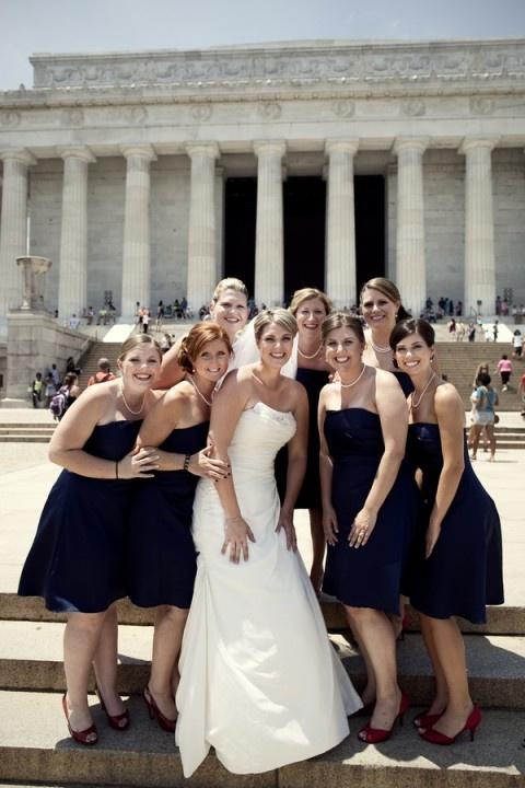 jennifer lynn photography: Lynn Photography, Red Shoes, Navy Dresses, Bridal Party, Dress Red, Jennifer Lynn