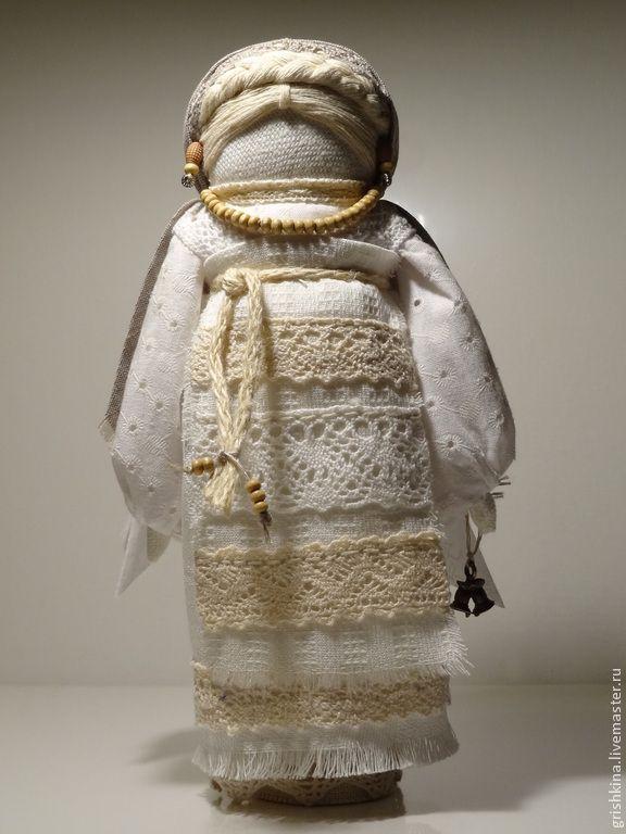 """Купить """"Ангелы живут среди нас..."""" (народная кукла) - белый, белоснежный, народная кукла"""