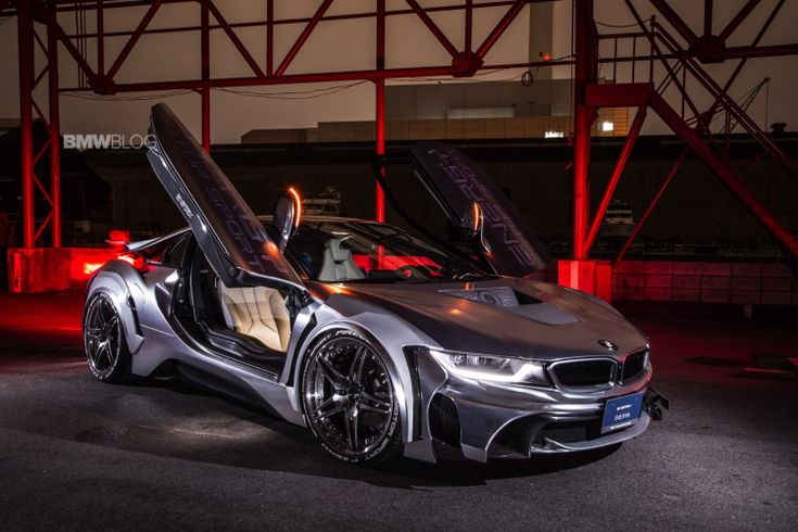 This BMW i8 receives a complete and unique body makeover accomplished by the Energy Motor Sport Tuning Team and it is called the Cyber Edition. This tuning
