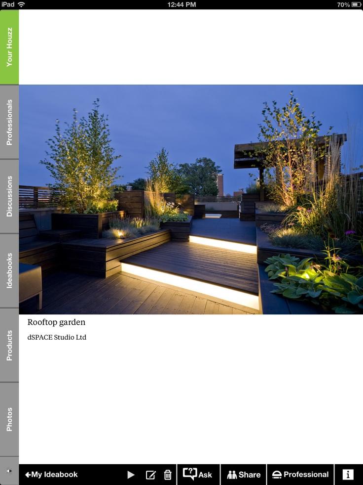 Roof top terrace or backyard