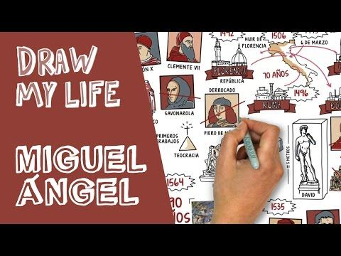 Draw my life - Michelangelo Buonarroti, el artista total - YouTube