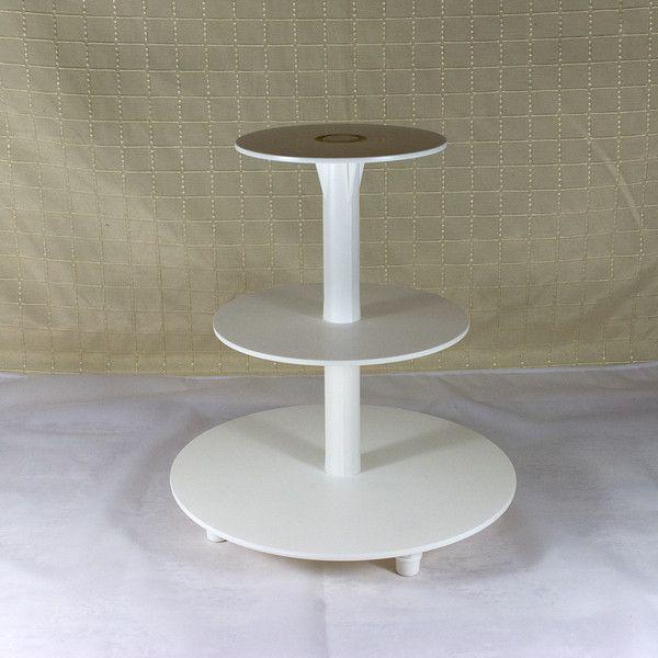 Backzubehör - Tortenständer Etagere 3 Etagen Hochzeitstorte - ein Designerstück von Lolima-Shop bei DaWanda