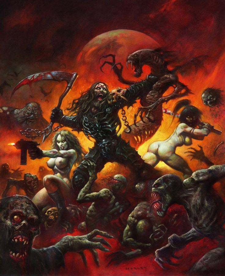 PlanetZombie by AlexHorley - A heavy metal album cover, just waiting for a band... :D
