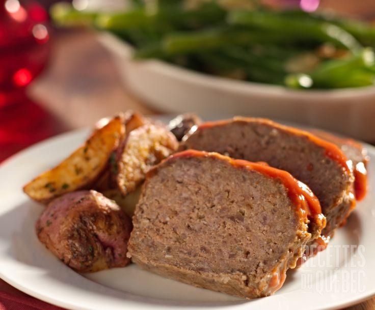 Pain de viande avec pois chiches #recettesduqc #souper