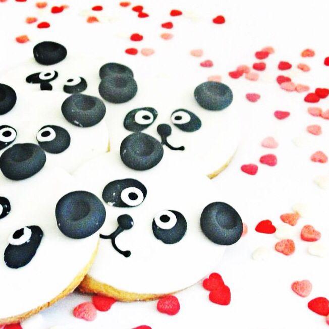 Fondant Pandas Cookies!