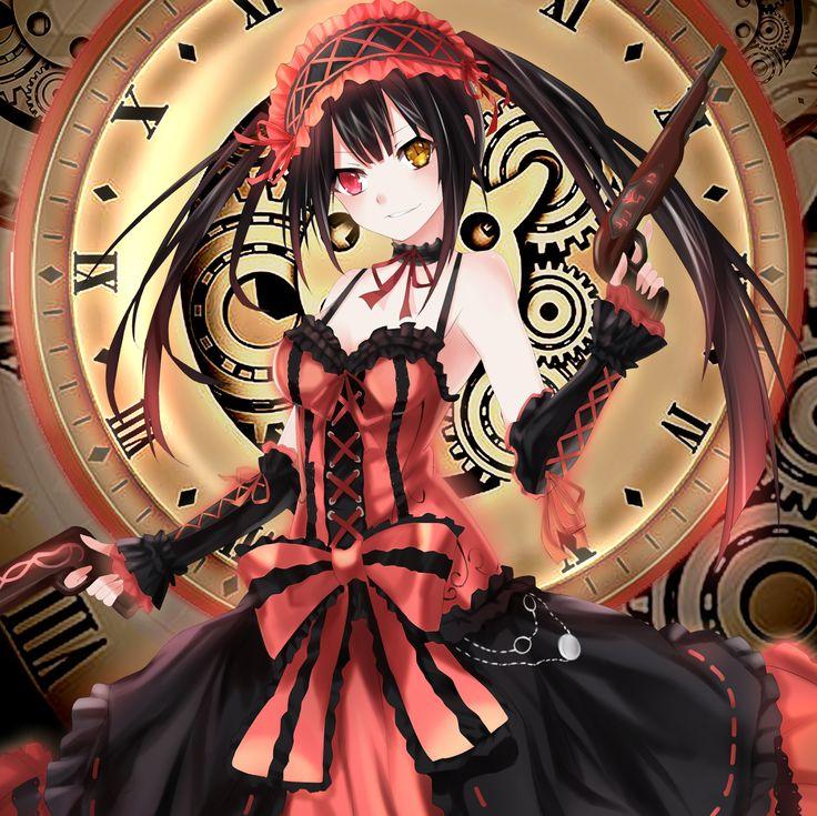 Anime Wallpaper Live: 325 Best Images About Tokisaki Kurumi On Pinterest