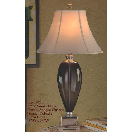 Found it at Wayfair - 32.5 H Table Lamp with Bell Shade