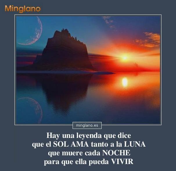 Frase Bonita Con Imágenes Que Habla Sobre El Sol Y La Luna