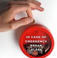 In case of emergency break glass!