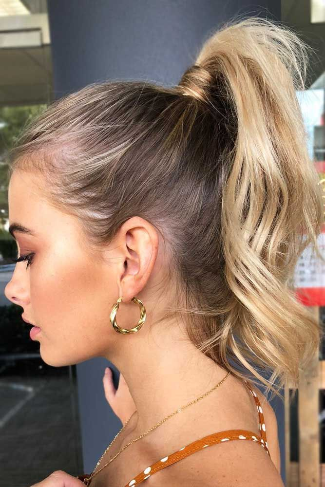 100 Different Ponytail Hairstyles To Fit All Moods And Occasions High Ponytail Hairstyles Pony Hairstyles Hair Styles