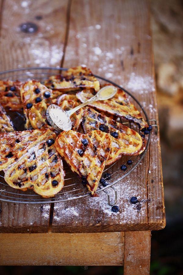 Gaufres aux Myrtilles des Bois - Cuisine Campagne