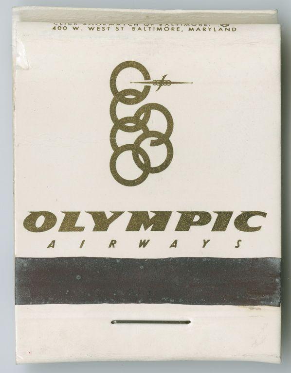 Olympic Airways Matchbooks