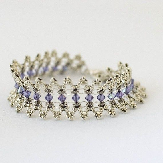 Beaded Bracelet Tutorial Elizabethan Elegance. $6.00, via ...