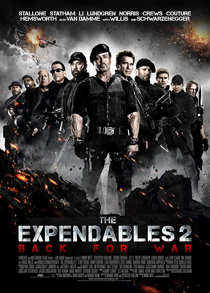 The Expendables 2 2012 The Expendables Sylvester Stallone Movies