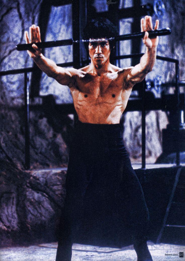 """Bruce Lee en""""Operación Dragón"""" (Enter the Dragon), 1973"""