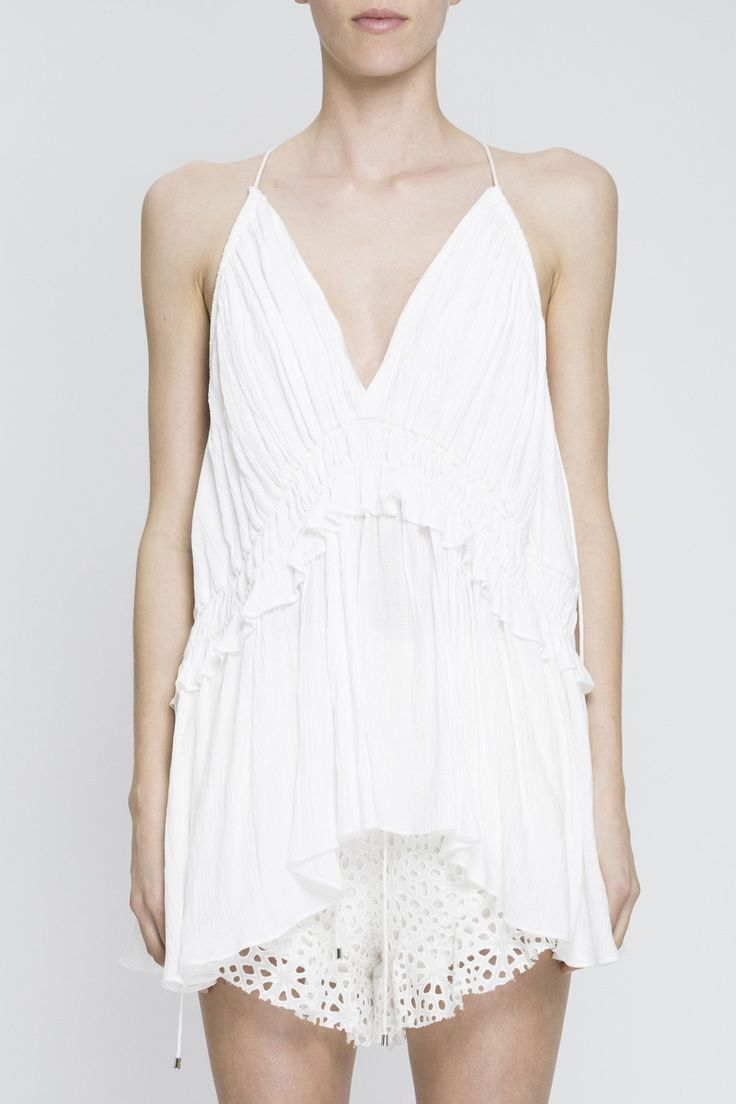 Acler - Dover Top Ivory