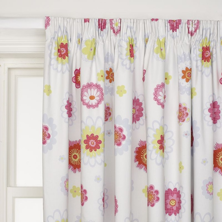 Pencil Pleat Blackout Lined Amelie Curtains For Small Bedroom