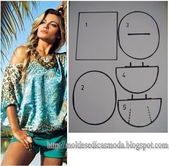 blusa tipo poncho. Fonte: https://www.facebook.com/photo.php?fbid=661252287237046=a.262773027084976.75978.143734568988823=1