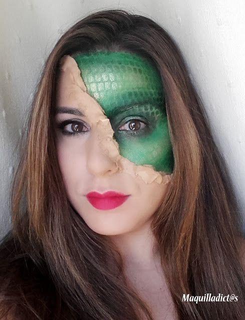 "Maquilladict@s: Tutorial especial Halloween: ""V"" #makeup #tutorial #fantasy #fx"