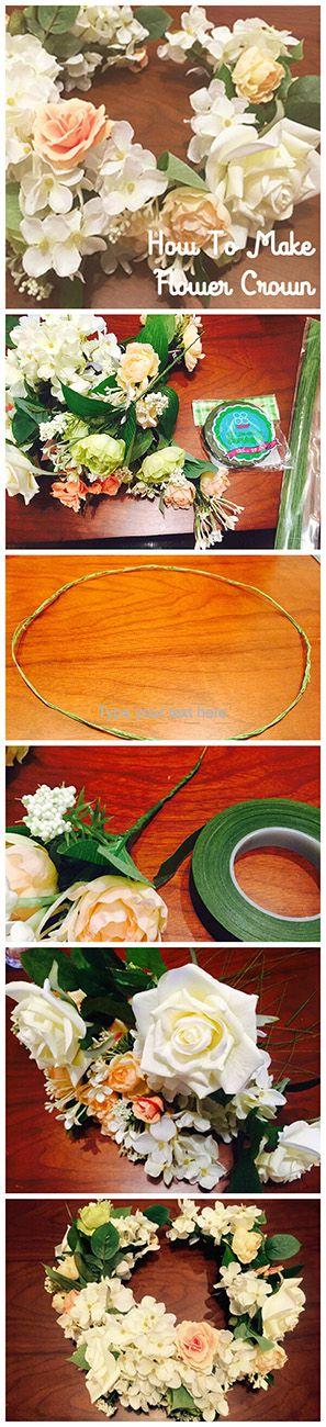 ウエディング用の花かんむりの作り方(初心者編)5ステップ #howto #handmade #ハンドメイド #flower #wedding