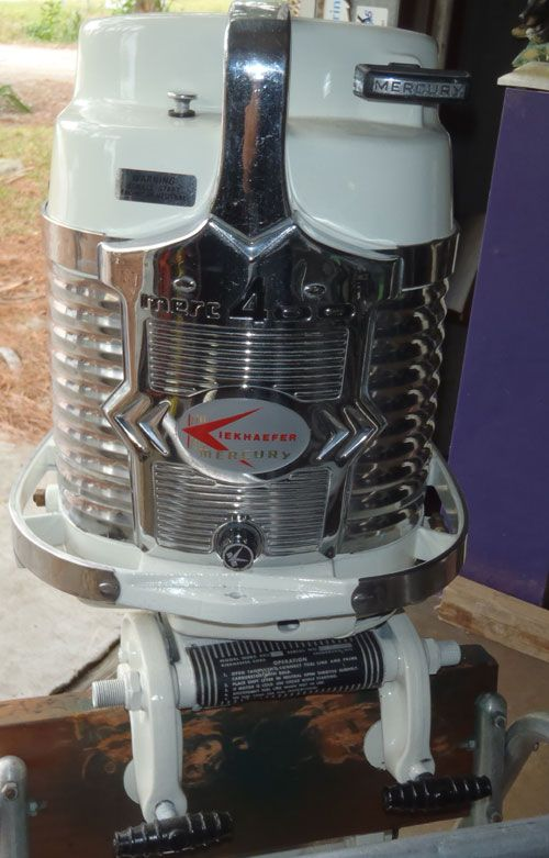 Vintage 40 Hp Mercury Outboard Antique Merc 400 45hp