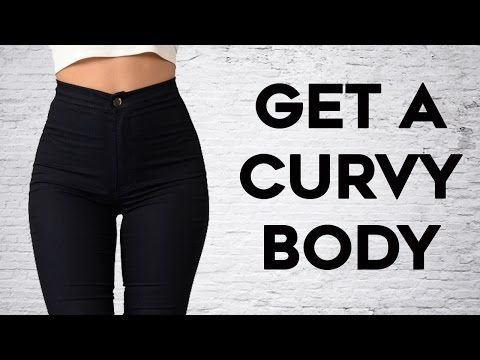 How To Get Thicker Thighs and Wider Hips | 4 Workouts For Sexy Curvy Figure! - YouTube