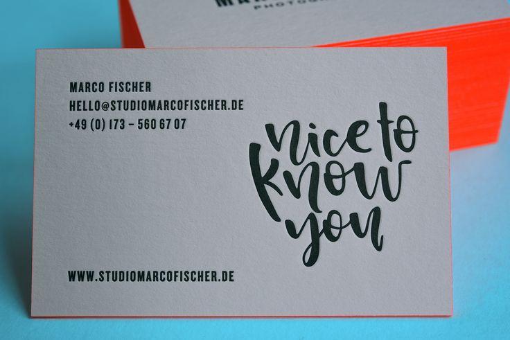 letterpressoprintAkzente setzen mit Neon-Farbschnitt. ⠀ Visitenkarten und Briefpapier für www.studiomarcofischer.de.⠀ Eure Color Edged Visitenkarten könnt Ihr übrigens auf letterpress.com bestellen.//Focus on neon Color Edged business cards. Business cards and notepaper for www.studiomarcofischer.de.⠀ //#letterpresso #letterpressonline #neon #coloredged #printstudio#letterpressbusinesscards #letterpressonline