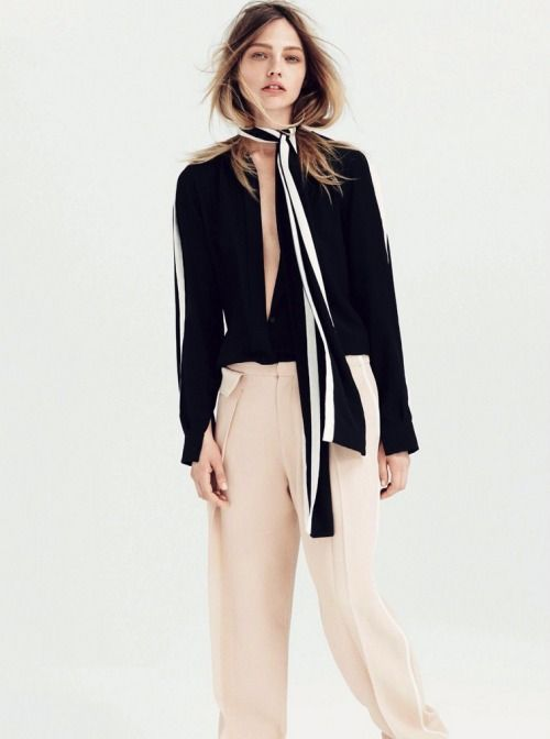 Update your 70s look with an open blouse and long thin scarf. www.stylestaples.com.au: