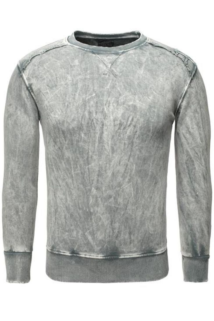 Awesome Bluza Męska Model 16870 Grey - YourNewStyle Check more at http://www.brandsforless.gr/shop/men/bluza-meska-model-16870-grey-yournewstyle/