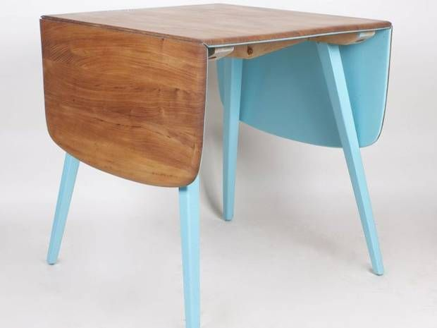 Reclaimed Ercol table from the Out of the Dark project