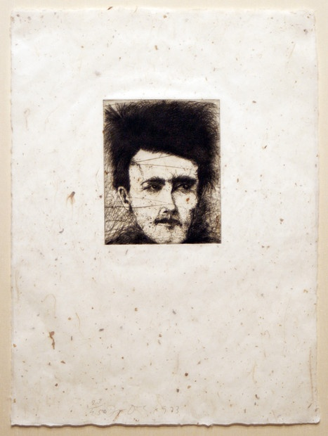 Jim Dine (b.1935) Rimbaud, Alchemy on Japanese Paper, 1973 Etching 20 x 16 inches